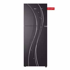 Haier 15 cu ft Glass Door Refrigerator (HRF-438EPR/EPB/EPC)