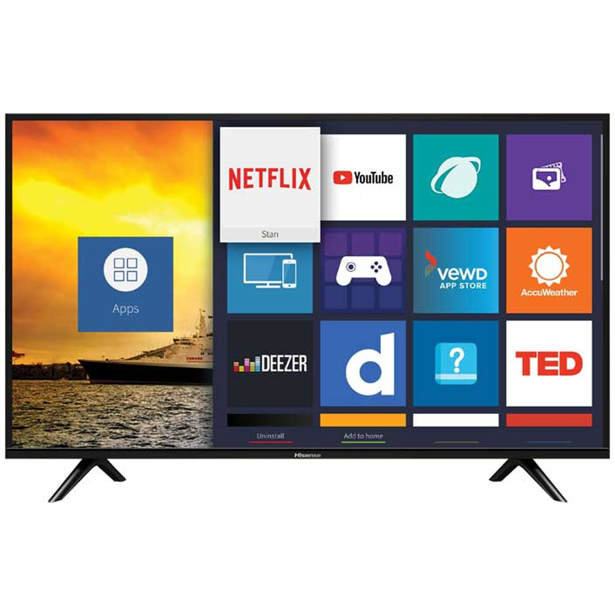 Hisense 43 Inch FHD Smart LED TV (E5600EX)
