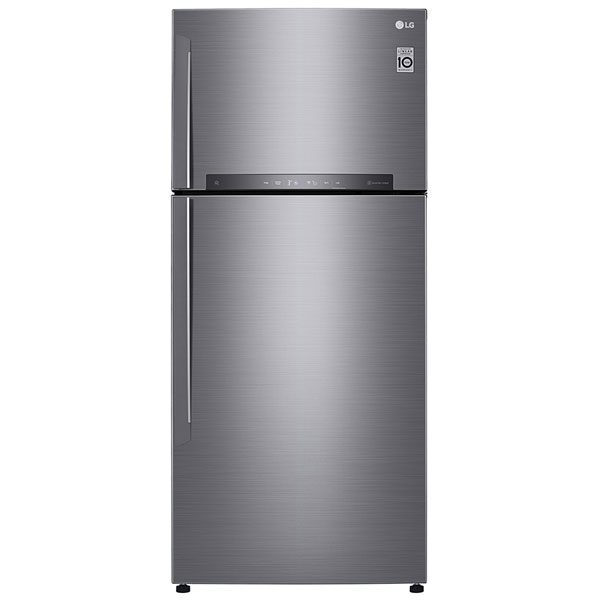 LG 19 cu ft Double Door Refrigerator (GNH702HLHU)