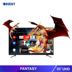 Orient 55 Inch 4K UHD Fantasy Smart LED TV (55S)