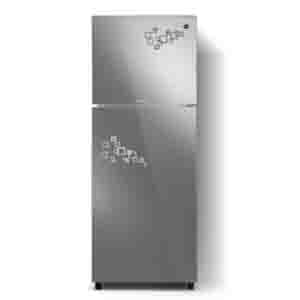 PEL 13 cu ft Inverteron Curved Glass Door Refrigerator (PRINVOGD-20180)