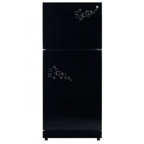 PEL 14 cu ft Mirror Glass Door Refrigerator (PRGD155)