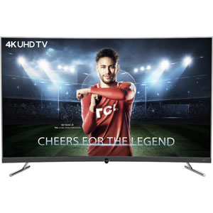 TCL 55 Inch 4K UHD Curved Smart LED TV (55P5)