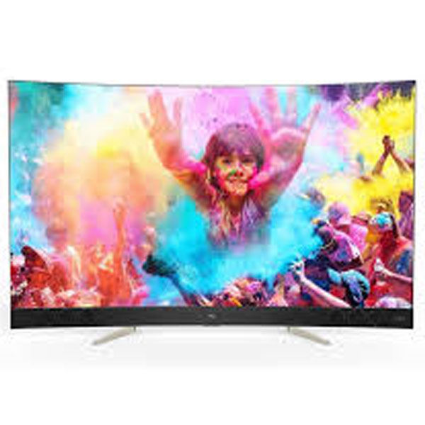 TCL 55 Inch Ultra HD Curved Smart LED TV (C55P5US)