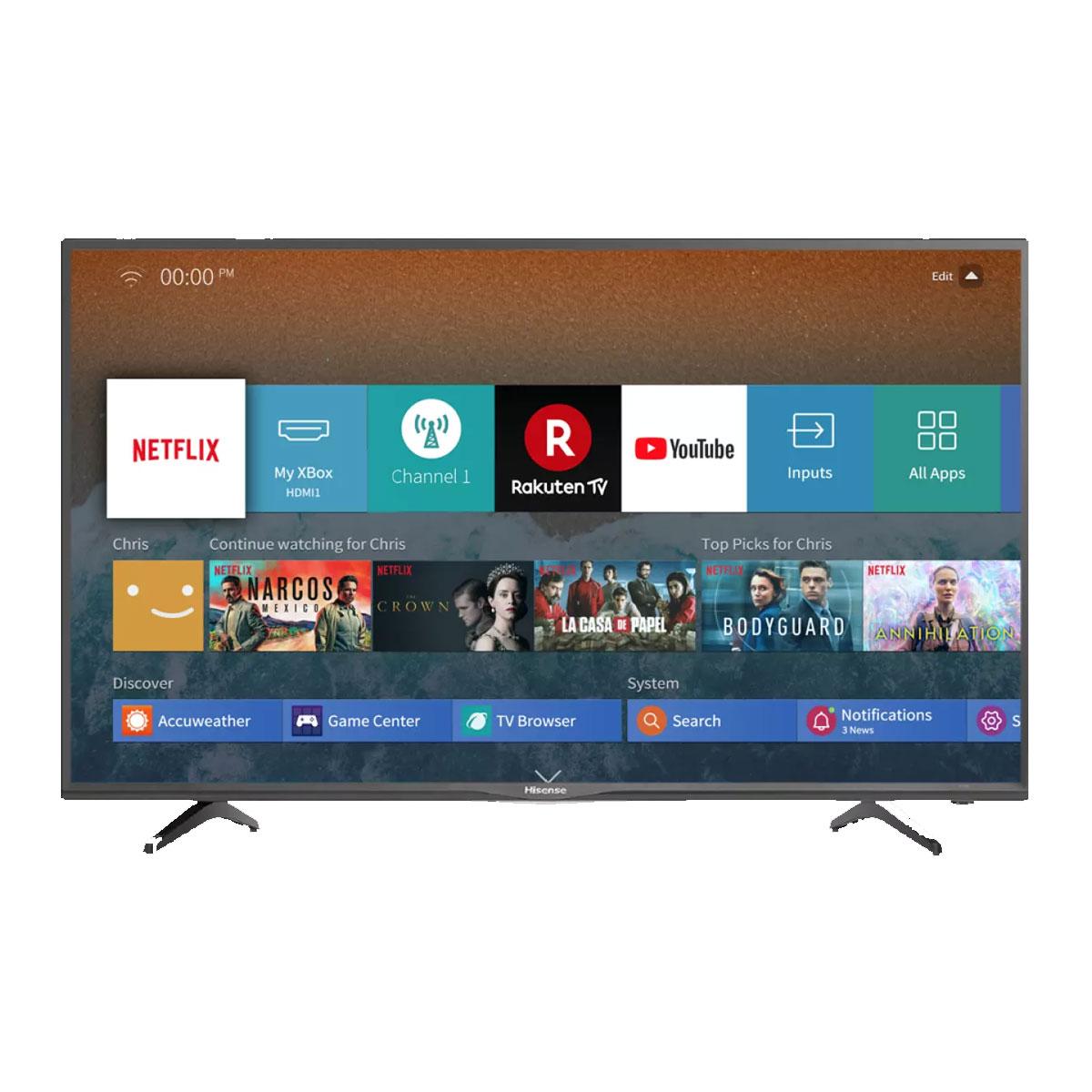 TCL 70 Inch Smart 4K UHD TV (LED70P1000US)