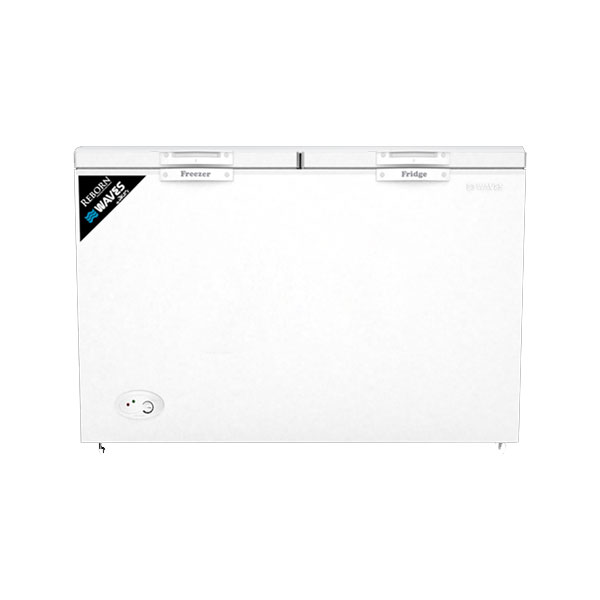 Waves 18 cu ft Regular Series Double Door Deep Freezer (WDF318)